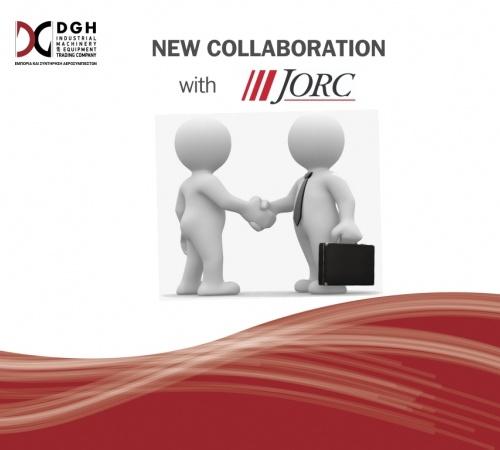 Νέα αποκλειστική σύναψη συνεργασίας της DGH S.A με την JORC INDUSTRIAL BV