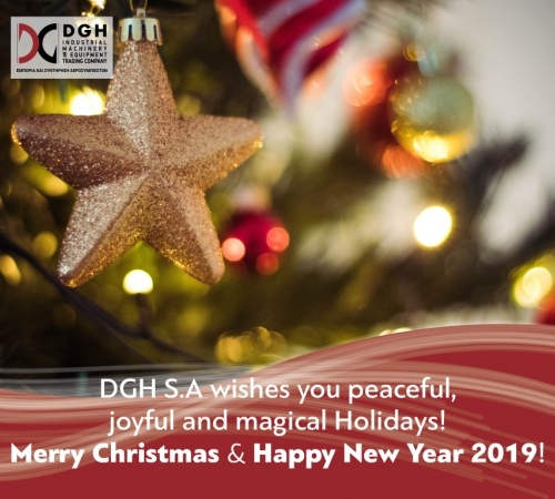 Happy Holidays from DGH S.A!
